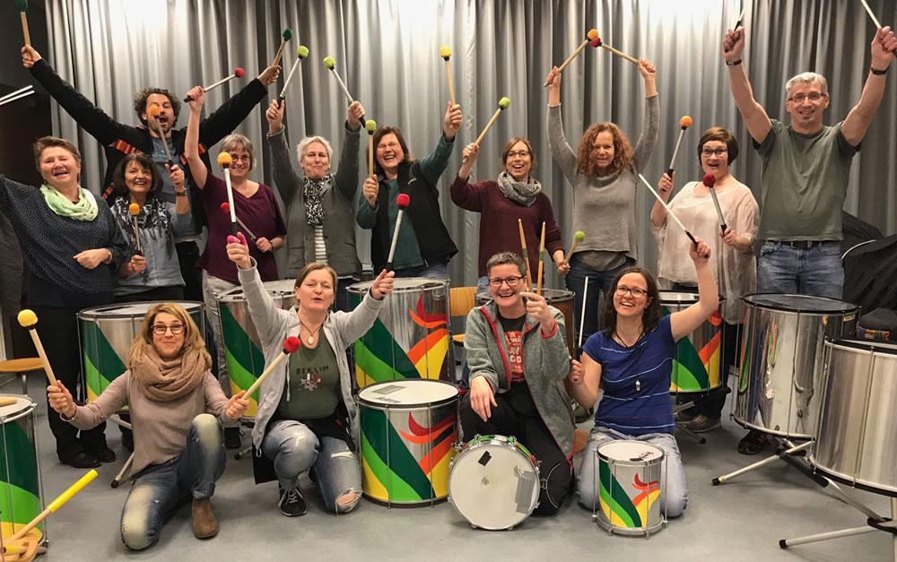Samba-Gruppe in Esslingen Wernau Kirchheim